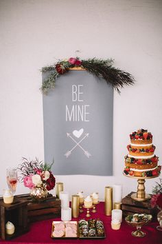 Wedding dessert table ideas.