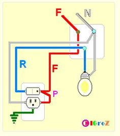 How to wire switches Combination switch/outlet + light fixture Turn Basic Residential Wiring Diagram In Spanish on