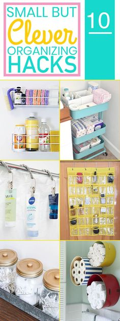 Organization Ideas bedroom 10 Small But Clever Ways To Keep Your Home Organized The BEST organizing hacks that will make it so much easier to keep your home organized. You have to try these organization tips! Organizing Hacks, Organizing Your Home, Relax, Home Organization Hacks, Pantry Organization, Bathroom Organization, Declutter Your Home, Staying Organized, Home Hacks