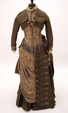 1883 Victorian gown