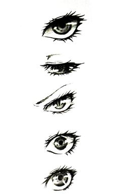 How To Draw Anime Eyes Realistic