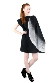 New Moon Spandex Dress by Shadowplaynyc on Etsy, $175.00