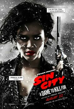 Jessica Alba's Nancy goes through a shocking transformation between two Sin City: A Dame to Kill For posters in honor of Comic-Con Sin City 2, Sin City Movie, Best Movie Posters, Cinema Posters, Movie Poster Art, Rodrigo Santoro, Jessica Alba, Nancy Comic, Samus