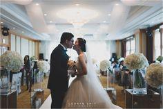 Jeju Ramada Plaza Hotel Wedding #winterwedding #koreanwedding #weddinghall #weddinginspiration #lorrynsmit #love #couple #weddingdress #weddingflowers #weddingring #brideandgroom #weddingportraits #weddingmakeup #weddinghair