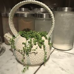 Adorable teapot planter made by Chere Todd Holiday Market, Teapots, Gift Guide, Goodies, Planters, Home And Garden, Gifts, Sweet Like Candy, Presents