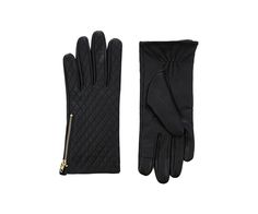 OASIS - Leather quilted gloves