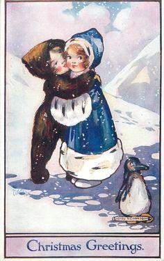 Agnes Richardson ~ vintage Oilette postcard
