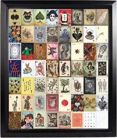 Ultimate Deck by Stranger & Stranger Uncut Sheet of Playing Cards