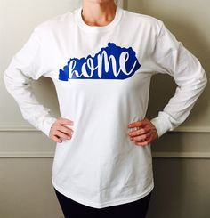 OBSESSED!!  LOVE YOUR STATE! Show your home state pride with our brand new ringspun short sleeve tee's!! Choose your favorite colors/team colors/school colors!