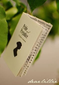 Jane Austen Mini Book Tutorial and Free Download