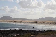 Fuerteventura, Playas del municipio de la Oliva.
