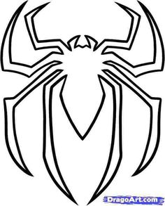 Spiderman Logo Coloring Pages Spiderman Face, Spiderman Drawing, Spiderman Coloring, How To Draw Spiderman, Spiderman Craft, Spiderman Cookies, Batman Coloring Pages, Spiderman Spiderman, Spiderman Pumpkin Stencil