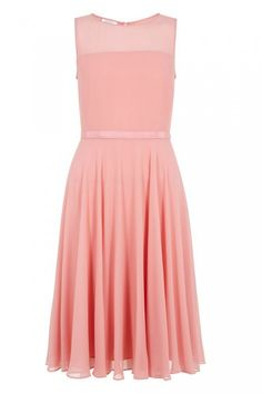 Simple, but adore the lovely pinky-peach colour Hobbs Invitation Abigale dress £139