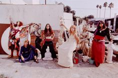 grahamnashofficial: The GTO's at Vito's, Famous Groupies, Pamela Des Barres, 1960s Aesthetic, Gypsy Style, 70s Style, Bohemian Gypsy, Boho Style, Teen Pictures, Teen Pics