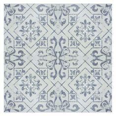 Found it at Wayfair - SAMPLE - Lotus Ceramic Floor and Wall Tile in Blue