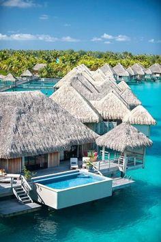Royal Over Water Villa at the St. Regis Bora Bora.