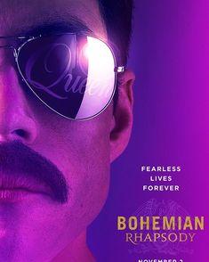 Bohemian Rhapsody Movie Film Poster Print Rami Malek QueenA4 A3 A2 A1