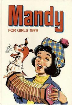 MANDY FOR GIRLS ANNUAL DC Thomson Gloss Hardback 1979
