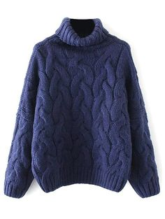 SHARE & Get it FREE | Cable Knit Roll Neck SweaterFor Fashion Lovers only:80,000+ Items • New Arrivals Daily • Affordable Casual to Chic for Every Occasion Join Sammydress: Get YOUR $50 NOW!