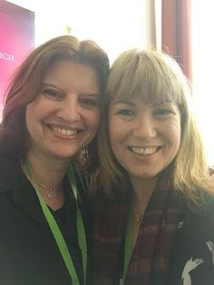 With Simona Ahrnstedt Berlin LoveLetter convention April 2016