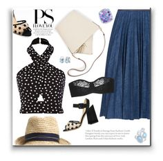"""""""Untitled #324"""" by craftsperson ❤ liked on Polyvore featuring Leur Logette, Wacoal, Charlotte Olympia and prettyunderpinnings"""