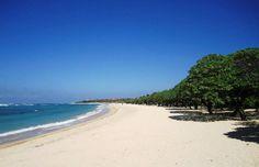 Beach outside Novotel Benoa Bali