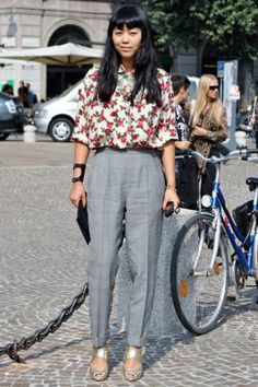 Milan Mode - Discover More Street Style - Elle