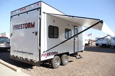 Dynamite Firestorm TH16 CF 2017 16ft  Toy Hauler - Used Inventory | DuneSport.com Toy Haulers, RVs, Fifth Wheelers and more.