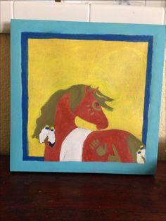 Native American horse 2