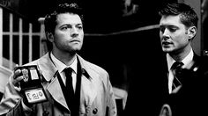 Castiel and Dean | We're missing Merlin and Arthur, but let's be honest, they're more of a romance anyway