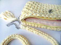 Penye İpten Örgü Çanta Modelleri 55 Chanel Boy Bag, Crochet Hats, Shoulder Bag, Bracelets, Bags, Jewelry, Fashion, Pouch Bag, Knitting Hats