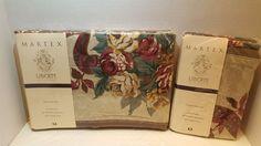 1993 Martex Liberty of London Queen Flat Sheet Cotton Prestwick Pillowcases VTG #MARTEXLIBERTYOFLONDON