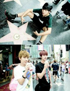 BTS | JIMIN JHOPE and JIN