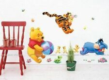 Reusable Winnie the Pooh and Tigger Decal Nursery Wall Stickers Nursery Wall Stickers, Removable Wall Stickers, Wall Decals, Kids Room Wall Art, Disney Winnie The Pooh, Kids House, Wall Colors, Girl Dolls, Boy Or Girl