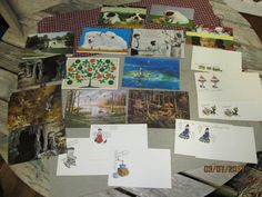 Vintage Assortment Lot of New Unused NOS New old stock Postcards - Nice variety lot by EvenTheKitchenSinkOH on Etsy