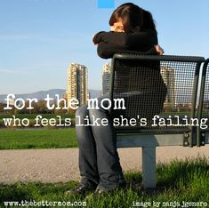 Great post for all moms!