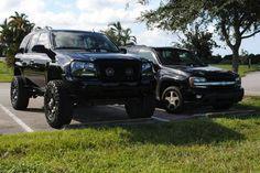 Lifted Chevy Trucks, Gm Trucks, 2003 Dodge Durango, Gmc Envoy, Chevrolet Trailblazer, Second Baby, Honda Civic, Jeeps, Cars And Motorcycles