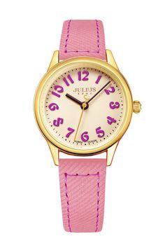 Julius Watch JA-856B Fashion Watch Women`s Leather Strap Watch