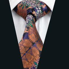 DN-351 Men s 100% Jacquard Woven Silk Ties Necktie Free P&P! Clearance Sale!