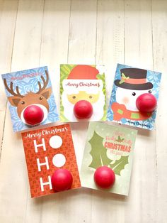 EOS Lip Balm Christmas Card Holders. Fun Gift to Give by Vikster