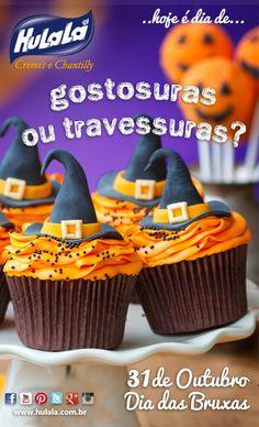 Gostosuras ou travessuras? - 31 de Outubro Dia das Bruxas, solte sua imaginação!