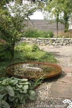 Back Gardens, Small Gardens, Outdoor Gardens, Water Gardens, Front Yard Garden Design, Garden Design Plans, Small Japanese Garden, Patio Pergola, Water Features In The Garden