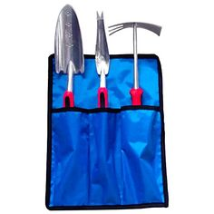 Wonderful gardening tools set made of cast aluminum.  Comes with convenient carrying/storage pouch.  Click on image to order yours today!