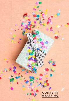 5 ways to gift wrap for spring - The House That Lars Built