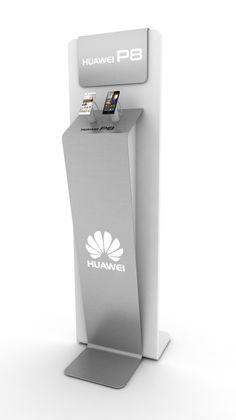 Huawei. Pedestal experiencial multitienda.