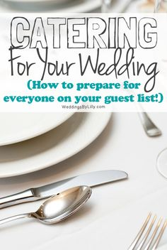 Catering Considerations For Your Wedding