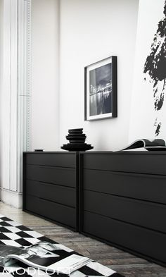 One of my favorites for its clean lines and grand size. The Modloft Jane dresser even has a top vanity drawer for your personal items. Available in our quick-ship program for immediate delivery.