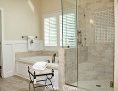 The Money Pit: Master Bathroom Inspiration - follow the remodel this post on.