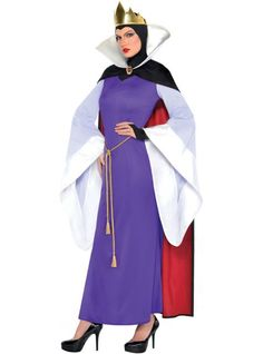 Adult Evil Queen Costume ($49.99) Snow White and the Seven Dwarfs - Party City ONLINE