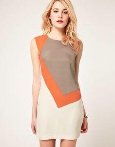 http://itsawant.com/  amazing colorblock dress